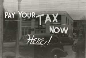 Pay Your Tax Now and Here